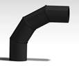 Polyethylene Elbow Segment Welded 90